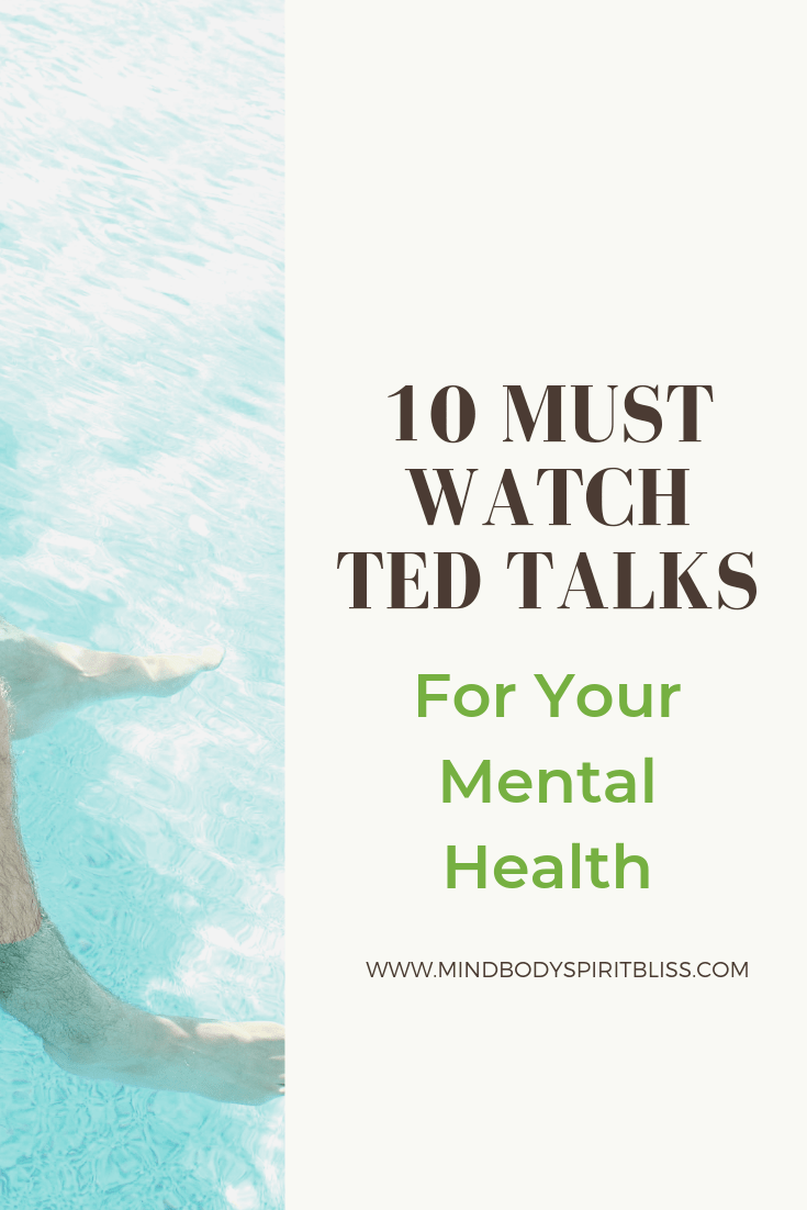 Best Ted Talks for mental health