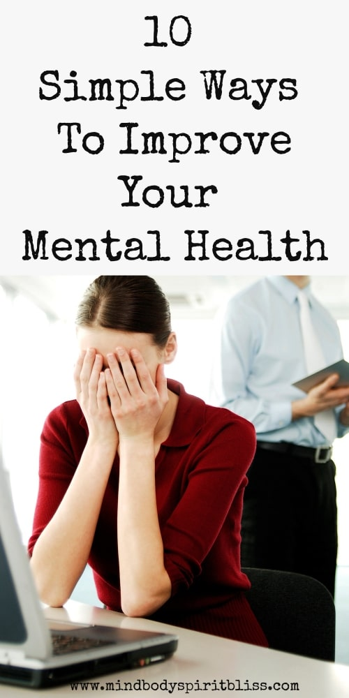 simple ways to improve your mental health