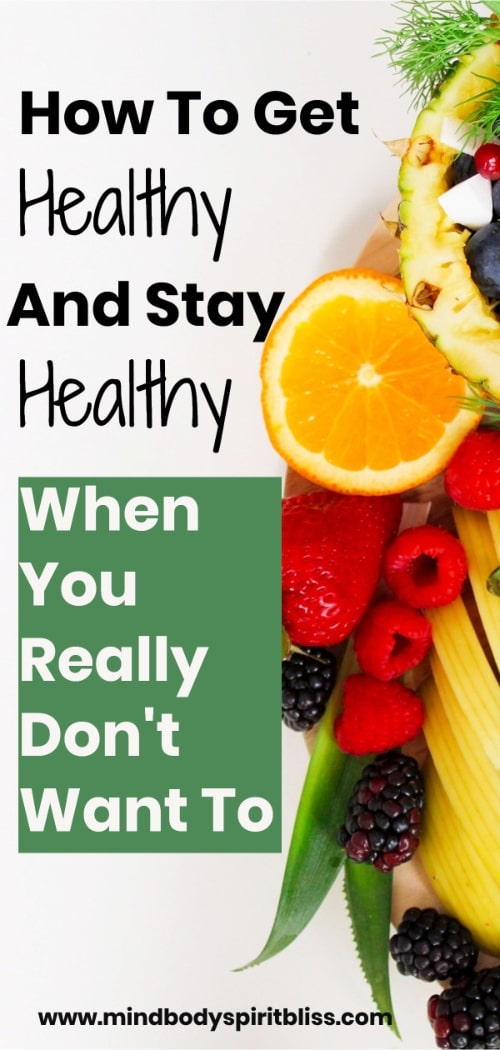 get healthy stay healthy pin for pinterest