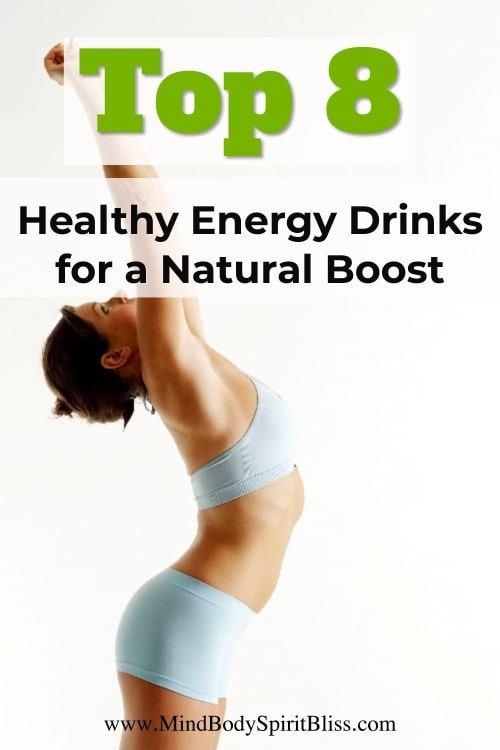 healthy energy drinks for natural boost pin