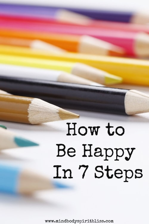 be happy in 7 steps pin