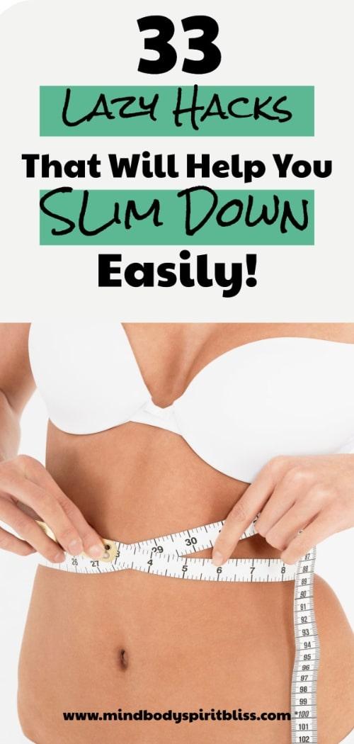 lazy hacks to slim down
