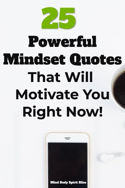 powerful mindset quotes pinterest pin