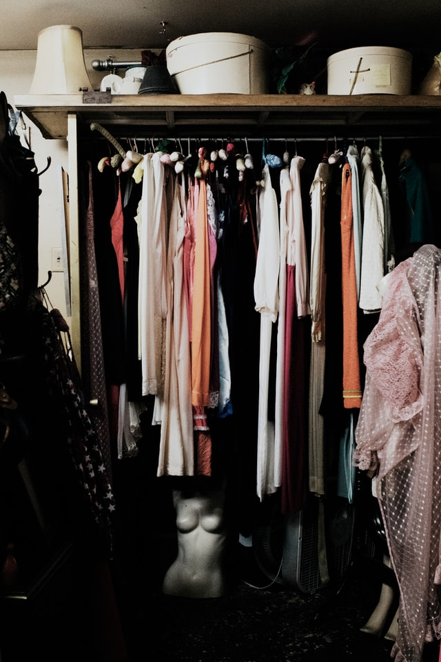 Old clothes is something to let go of