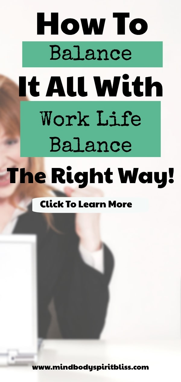 how to balance it all
