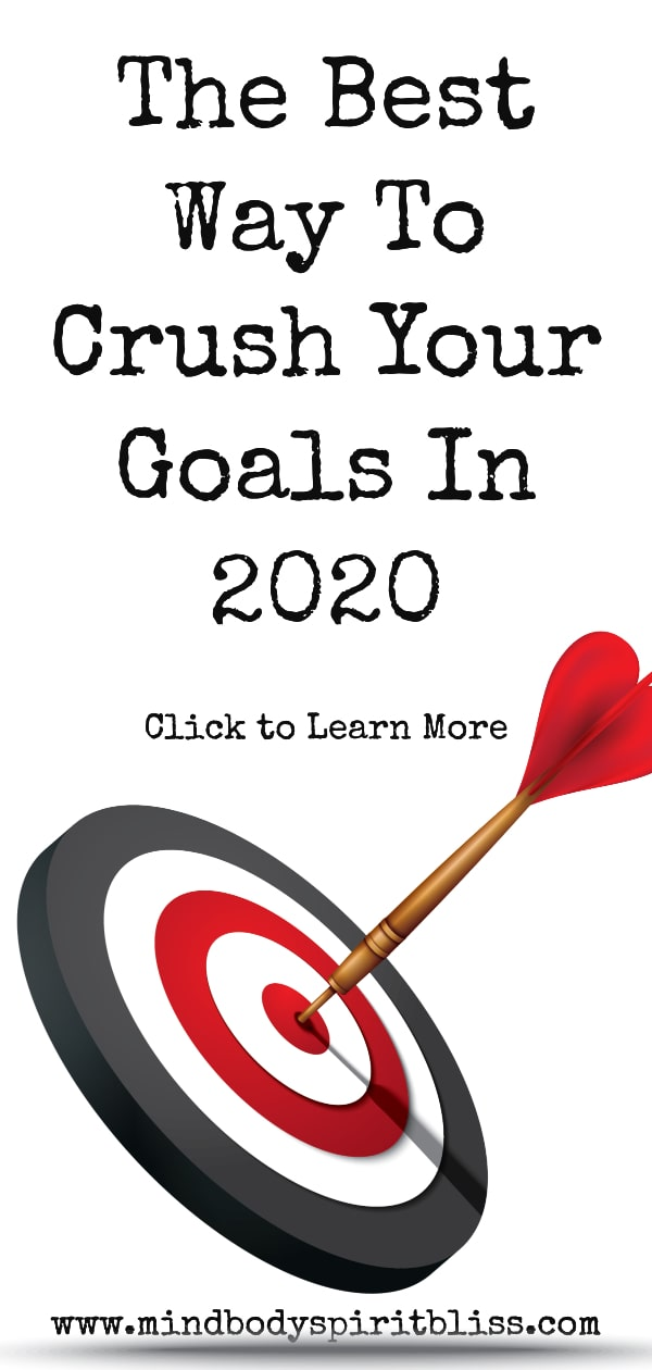 best way to crush your goals