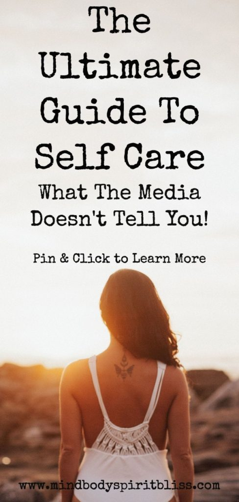the ultimate guide to self care pin