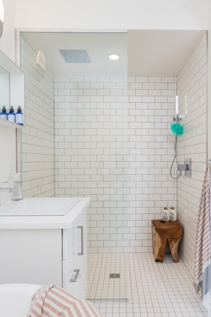 self care gift for new mom is ability to take a nice long shower