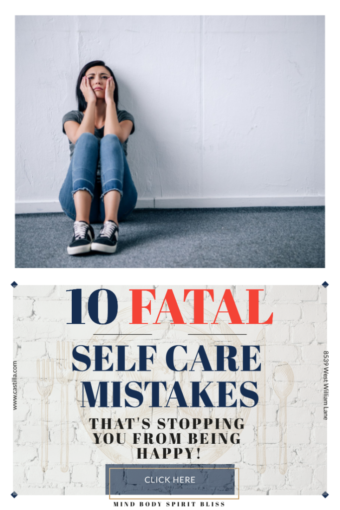 10 fatal self care mistakes pinterest pin